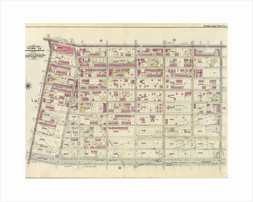 Part of Ward 24. Land Map Section, No. 5, Volume 1, Brooklyn Borough, New York City by Anonymous