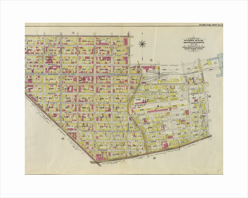 Part of Wards 16 & 18. Land Map Section, No. 10, Volume 1, Brooklyn Borough, New York City by Anonymous