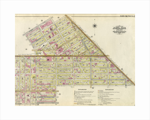 Part of Wards 19 & 21. Land Map Sections, No. 6 & 8, Volume 1, Brooklyn Borough, New York City by Anonymous
