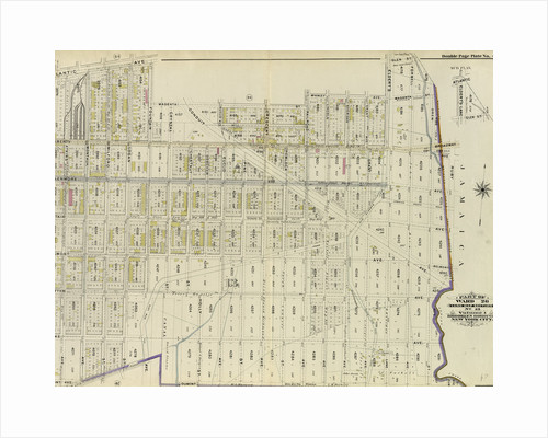 Part of Ward 26. Land Map Section, No. 13. Volume 1, Brooklyn Borough, New York City by Anonymous