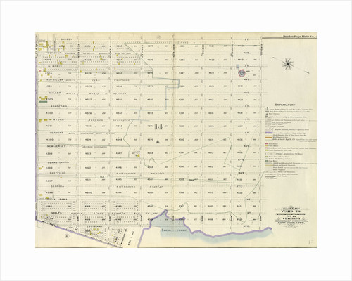 Part of Ward 26. Land Map Section, No. 14. Volume 1, Brooklyn Borough, New York City by Anonymous