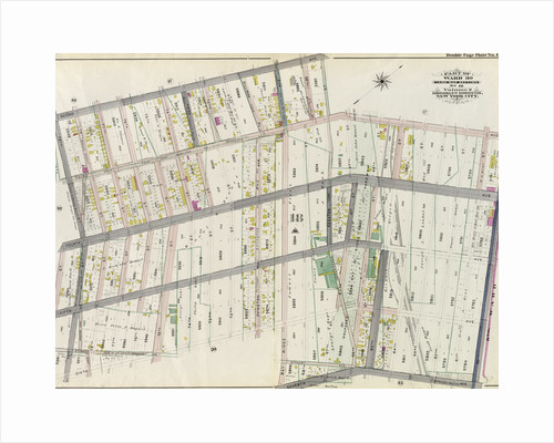 Part of Ward 30, Land Map Section, No. 18. Volume 2, Brooklyn Borough, New York City by Anonymous