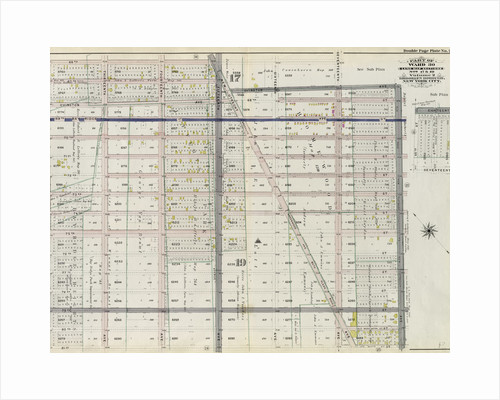 Bounded by 66th Street, Seventeenth Avenue, 65th Street, Old Road from Flatbush to New Utrecht Eighteenth Avenue, 81st Street and Twelfth Avenue, New York by Anonymous