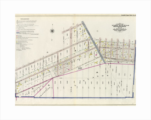 Part of Wards 29, 30, 31 & 32, Land Map Section, No. 16. Volume 2, Brooklyn Borough, New York City by Anonymous