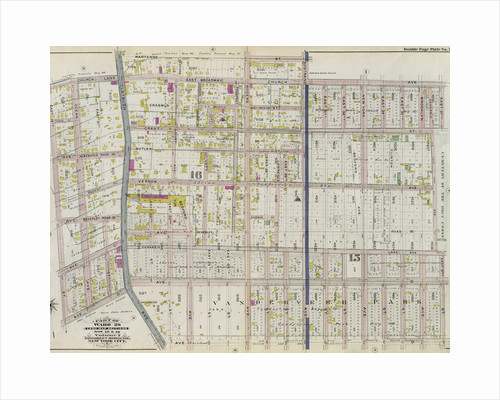 Part of Ward 29. Land Map Sections, Nos. 15, & 16. Volume 2, Brooklyn Borough, New York City by Anonymous