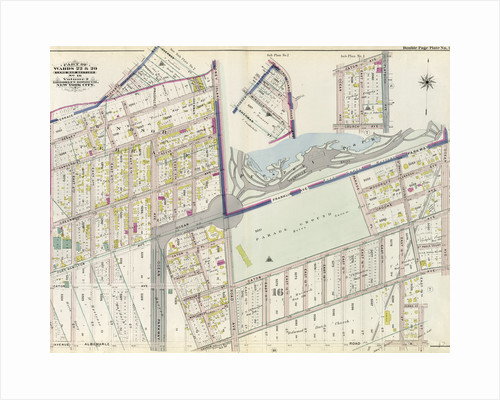 Part of Wards 22 & 29. Land Map Section, No. 16. Volume 2, Brooklyn Borough, New York City by Anonymous