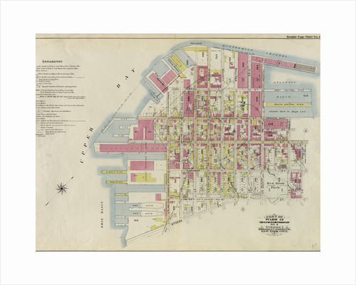 Part of Ward 12. Land Map Section, No. 2, Volume 1, Brooklyn Borough, New York City by Anonymous