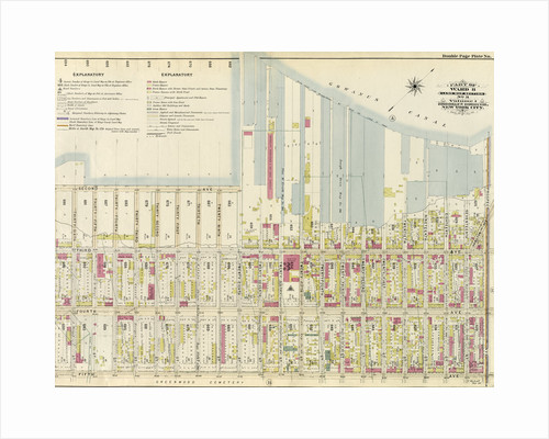 Part of Ward 8. Land Map Section, No. 3, Volume 1, Brooklyn Borough, New York City by Anonymous