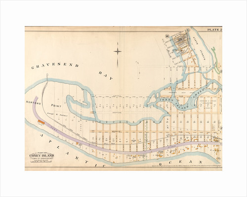 Bounded by Bay 46th Street, Harway Avenue, Avenue Z, Stillwell Avenue and Atlantic Ocean Surf Avenue, New York by Anonymous