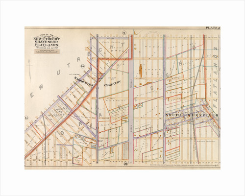 Bounded by Avenue I, Ocean Avenue, Avenue O, 22nd Avenue, Bay Ridge Street, 21st Avenue and West Street, New York by Anonymous