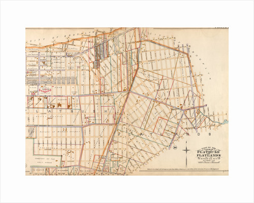Part of the Towns of Flatbush and Flatlands, Kings Co., N.Y by Anonymous