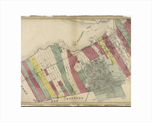 Sheet 1: Map encompassing Sunset Park, Greenwood Cemetery, Gowanus Canal and Greenwood Heights, New York by Anonymous