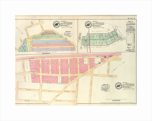 Bounded by Berrian Ave., Corsa Ave. and Bronx River. - Map, New York by Anonymous