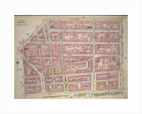 Bounded by New Bowery Street, East Broadway, Pike Street, Pike Slip, South Street, and New Street, New York by Anonymous