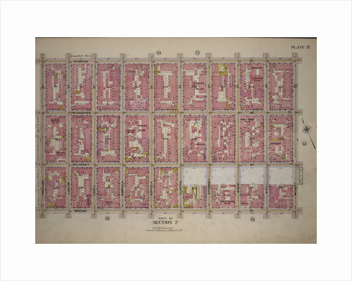Bounded by Stanton Street, Willett Street, Broome Street, and Orchard Street, New York by Anonymous