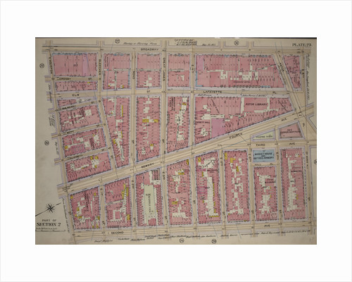 Bounded by Broadway, St. Marks Place E. 8th Street, Second Avenue and E. Houston Street, New York by Anonymous