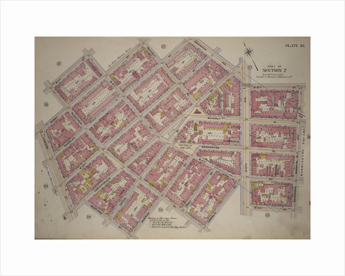 Bounded by W. 11th Street, W. 4th Street, Perry Street, Waverly Place, Charles Street, Greenwich Avenue, Sixth Avenue, W. 8th Street, West Street, Macdougal Street, W. 3rd Street, Sixth Avenue, Cornelia Street, Bleecker Street, New York by Anonymous