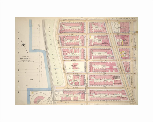 Bounded by W. 77th Street, Amsterdam Avenue, W. 71st Street, West End Avenue, W. 72nd Street and Riverside Drive, New York by Anonymous