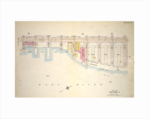 Bounded by E. 65th Street, Avenue A, E. 67th Street and Exterior Street, New York by Anonymous