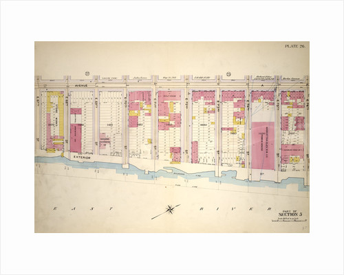 Bounded by E. 67th Street, Avenue A, E. 76th Street and Exterior Street, New York by Anonymous