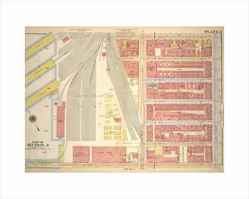 Bounded by W. 65th Street, Amsterdam Avenue, W. 59th Street and Hudson River Piers West End Avenue, New York by Anonymous
