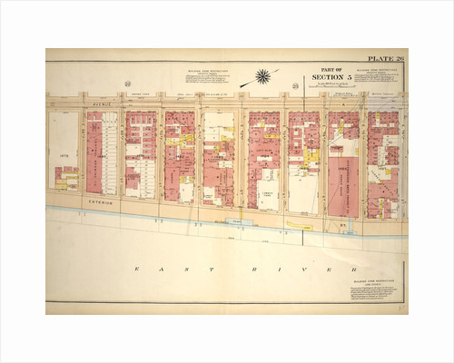 Bounded by Avenue A, E. 76th Street, Exterior Street and E. 67th Street, New York by Anonymous