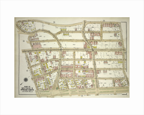 Borough of the Bronx. Bounded by Harrison Avenue, W. 181st Street, E. 181st Street, Grand Boulevard, Mt. Hope Place, Jerome Avenue, W. 177th Street and W. Tremont Avenue, New York by Anonymous