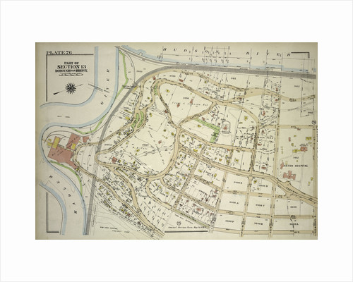 Borough of the Bronx. Bounded by Spuyten Duyvil Road, W. 235th Street, Netherland Avenue, Kappock Street, W. Johnson Road and Broadway, New York by Anonymous