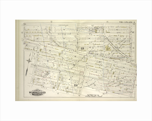 Map bound by Decatur St., Patchen Ave., Buffalo Ave., Pacific Ave., Dean St., Troy Ave., Yates Ave; Including Bainbridge St., Chauncey, Marion St., Sumpter St., Fulton St., Herkimer St., Atlantic Ave., Pacific Ave., Lewis Ave., Schene., New York by Anonymous