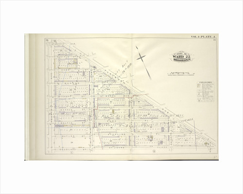 Map bound by Atlantic Ave., Flatbush Ave., St. Johns Place, Douglass St., Fourth Ave; Including Pacific St., Dean St., Berg St., Wyckoff St., St. Marks Ave., Warren St., Prospect Pl., Baltic St., Park Pl., Butler St., Sterling Pl., Fi., New York by Anonymous