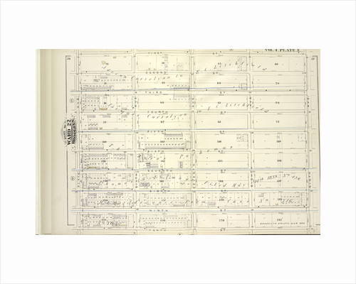 Map bound by First St., Ninth Ave., Tenth St., Fifth Ave; Including Second St., Third St., Fourth St., Fifth St., Sixth St., Seventh St., Eighth St., Ninth St., Sixth Ave., Seventh Ave., Eighth Ave., New York by Anonymous