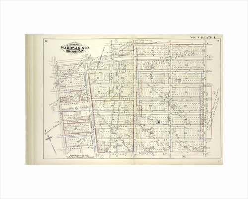 Map bound by Atlantic St., State St., Bond St., Butler St., Court St., Harrison St., Clinton St; Including Pacific St., Dean St., Bergen St., Wyckoff St., Warren St., Baltic St., Boerum St., Smith St., Hoyt St., New York by Anonymous
