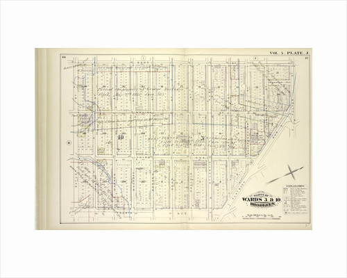 Map bound by Bond St., Fulton St., Flatbush Ave., Fourth Ave., Butler St; Including Nevins St., Hanover Pl., Third Ave., Baltic St., Warren St., Wyckoff St., Bergen St., Dean St., Pacific St., Atlantic Ave., State St., Schermerhorn St., New York by Anonymous