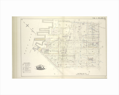 Map bound by Harrison St., Henry St., Carroll St., Hamilton Ave., East River; Including Irving St., Sedgwick St., Degraw St., Sackett St., Union St., President St., Beach Pl., Van Brunt St., Columbia St., Tiffany Pl., Hicks St., Cheeve, New York by Anonymous