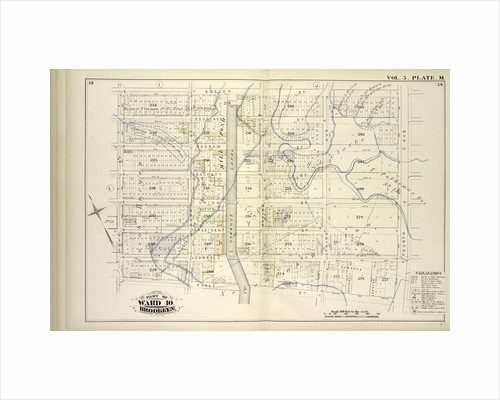 Map bound by Butler St., Fourth Ave., First St., Hoyt St; Including Douglass St., Degraw St., Union St., President St., Carroll St., Bond St., Gowanus Canal, Nevins St., Third Ave., Whitewell Pl., Denton Pl., New York by Anonymous