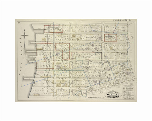 Map bound by Huron St., Oakland St., Calyer St., East River; Including India St., Java St., Kent St., Green Point St., Milton St., Noble St., Oak St., West St., Franklin St., Guernsey St., Lorimer St., Manhattan Ave by Anonymous