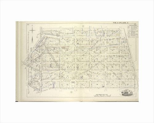 Map bound by Conselyea St., Bushwick Ave., Ten Eyck St., S. Second St., Eleventh St., Grand St., Tenth St., Union Ave; Including N. Second St., Devoe St., Ainslie St., Hope St., Powers St., S. First St., Maujer St., Lorimer St., Leona., New York by Anonymous