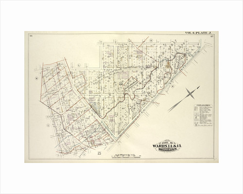 Map bound by Sixth St., N.6th St., Fifth St., Union Ave., Tenth St., Grand St; Including Seventh St., Eighth St., Ninth St., Hope St., Ainslie St., N.2nd St., 5th St., N.7th St., N.8th St., N.9th St., N.10th St., N.11th St., N.12th St., New York by Anonymous