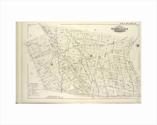 Map bound by Boerum St., Bushwick Ave., Flushing Ave., Harrison Ave., Middleton St., Broadway; Including Mc Kibbin St., Gwinnett St., Seigel St., Walton St., Moore St., Gerry St., Varet St., Bartlett St., Cook St., WhipPLe St., Thornto., New York by Anonymous