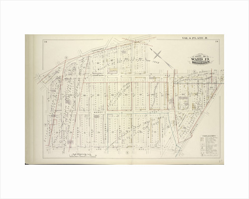Map bound by Broadway, Middleton St., Harrison Ave., Flushing Ave., Lee Ave., Keap St; Including Marcy Ave., Hooper St., Hewes St., Penn St., Rutledge St., Hayward St., Lynch St., Gwinnett St., Walton St., Wallabout St., Gerry St., New York by Anonymous
