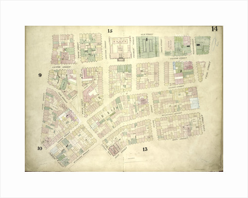 Map bounded by Elm Street, Canal Street, Mott Street, Park Street, Mulberry Street, Chatham Street, Pearl Street; Including Centre Street, Park Street, Mission Place, Baxter Street, Mulberry Street, Worth Street by Anonymous