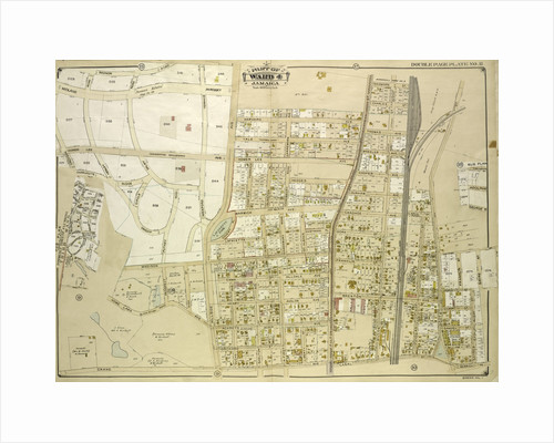 Map bounded by Grand Ave., Black Stump Road, Charlecote, Croydon Jamaica Estates Road, Edgerton Blvd., Doncaster Blvd., Henley Road, Midland Parkway, New York by Anonymous