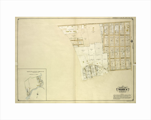 Map bounded by Rockaway Plank road, Three Mile Mill Road, Old South Road; Including Smith St., Sidney St., Lewis St., Bank St., Bedford St; Sub Plan From Book 6, New York by Anonymous