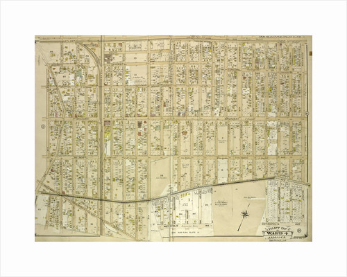 Map bounded by Atlantic Ave., Napier Ave., Ocean Ave., Hopkinton Ave., Woodhaven Ave., Flushing Ave., Grafton Ave., Hatch Ave., Shattuck Ave., Oakley Ave., Lawn Ave., Union Ave., New York by Anonymous