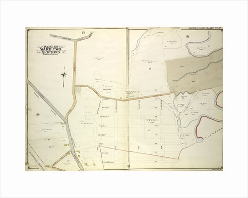 Map bounded by north Hempstead Plank Road, Livingstone St; Including Hoffman Boulevard, White Pot Road, Astoria Road, New York by Anonymous