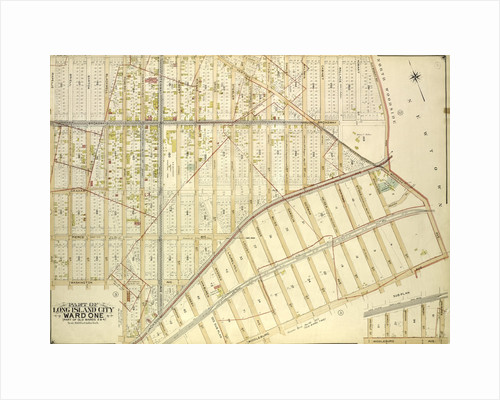 Map bounded by Jamaica Ave., Old Bowery Bay Road, Woodside Ave., Middleburg Ave., Van Buren St., Lowery St; Including Bragaw St., Harold S., New York by Anonymous