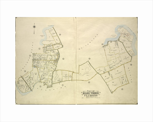 Map bounded by 11th Ave., 10th Ave., 7th Ave., 6th Ave., Linden Ave., 5th Ave., Simths Lane, 4th Ave., Lawrence Ave., 3rd Ave., Nostrand Lane, Old Flushing Rd., Whitestone, New York by Anonymous