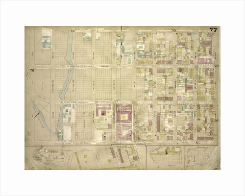 Map bounded by Driggs St. late 5th St., North 6th St., 7th St., 8th St., 9th St., 10th St., 11th St., 12th St., 13th St., 14th St., 15th St., Wythe Ave. late 2nd St; Including Eckford St., Van Cot., New York by Anonymous