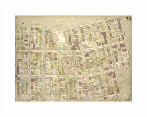 Map bounded by Roebling St. late South St., South 3rd St., South 2nd St., South 1st St., Grand St., North 1st St; Including North 2nd St., North 3rd St., North 4th St., North 5th St., North 6th St., New York by Anonymous