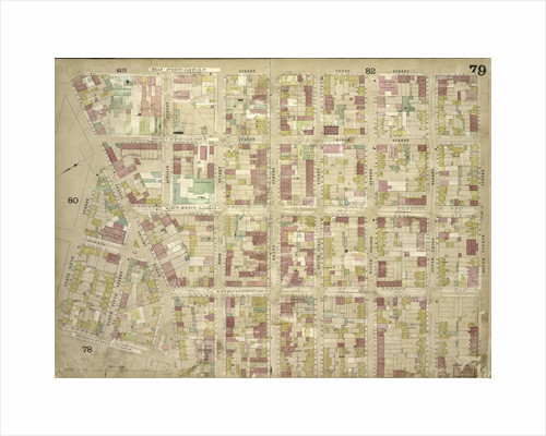 Map bounded by Keap St. late 10th St., South 4th St., South 3rd St., South 2nd St., South 1st St., Grand St., Hope St; Including North 2nd St., North 6th St., North 5th St., 7th St., Roebling St., New York by Anonymous